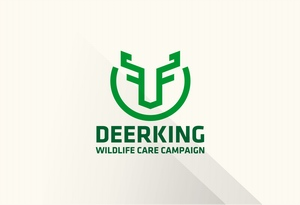 logo DEERKING - Wildlife Care Campaign