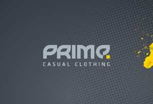 logo prime - casual clothing
